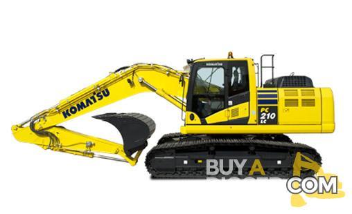 Komatsu PC210 LC-10 Excavator