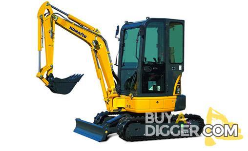 Komatsu PC26 MR-3 Excavator