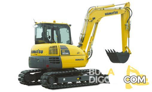 Komatsu PC80 MR-3 Excavator