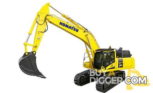 Komatsu PC490 Excavator