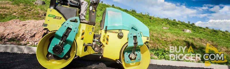 Buy A Used Ammann Roller