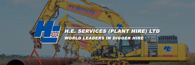 H.E. SERVICES (Plant Hire) Ltd Logo