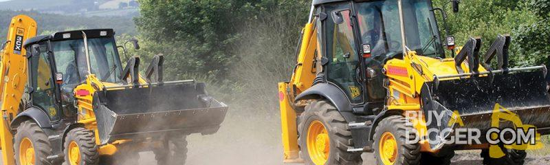 JCB Racing at Diggerland