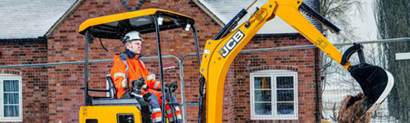 JCB Electric Digger