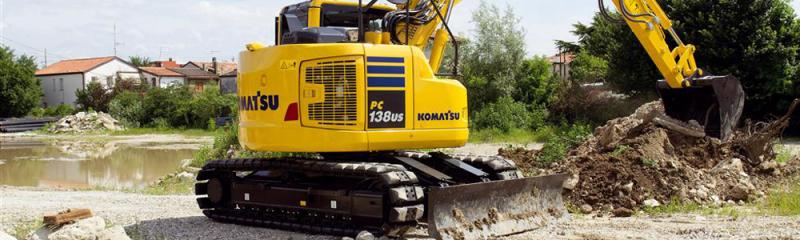 Komatsu Tracked Excavator