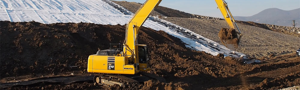 Komatsu Long Reach Excavators