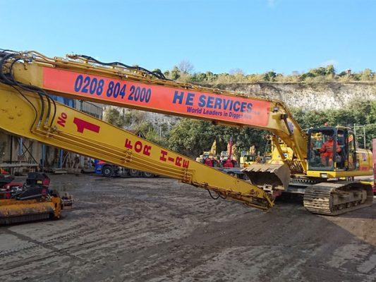 Komatsu PC360 SLF - Long Reach Excavator
