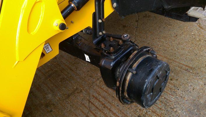 Used construction machinery - JCB 3CX
