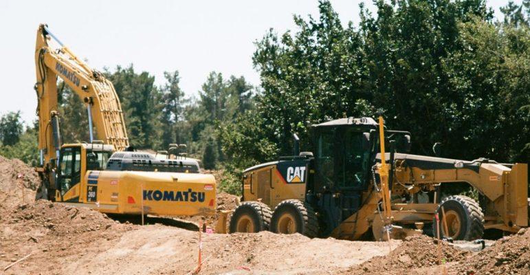 Komatsu second hand diggers