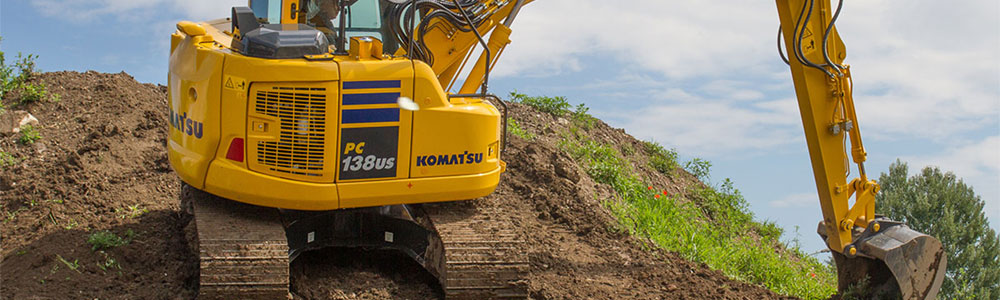 Tracked excavators for sale - Komatsu PC138 US-10