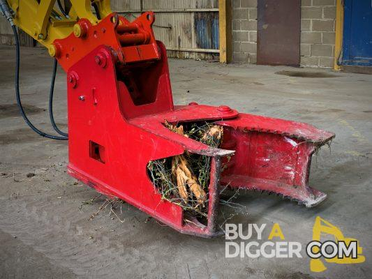 Tree Shear - Digger attachment