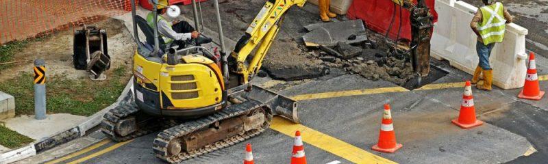 Construction - roadwork