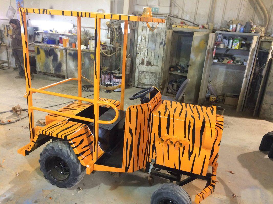 paint job tractor