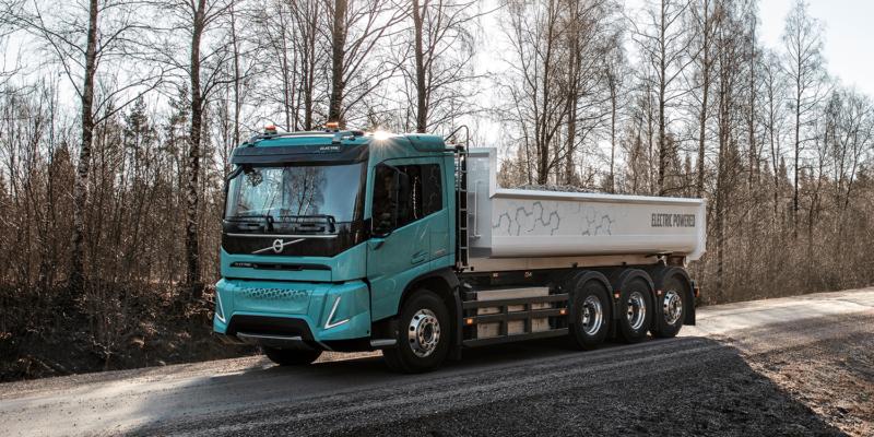 Plant equipment - Volvo electric trucks