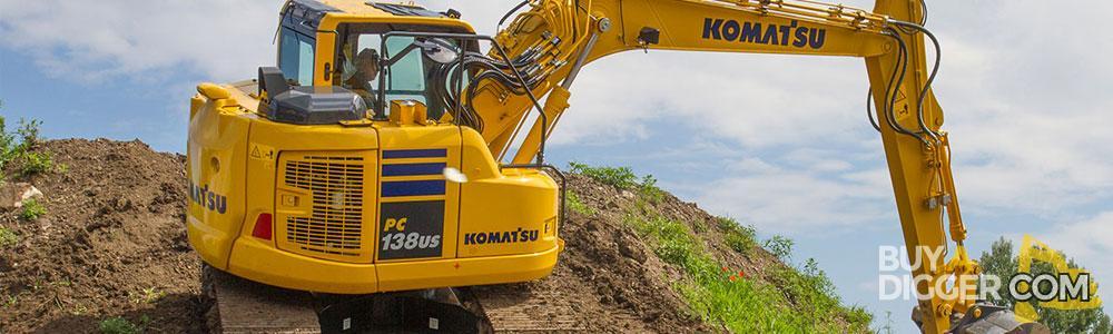 Komatsu diggers for sale - PC138