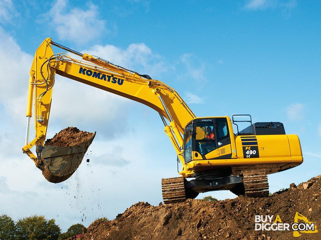 Construction machinery - komatsu digger