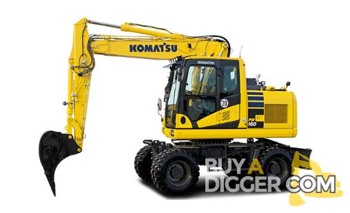 Komatsu PW160-11 - Wheeled Excavators