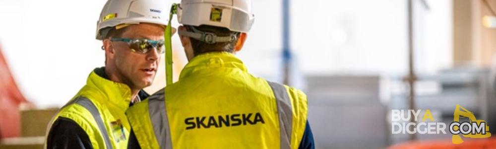 Skanska - Construction machinery