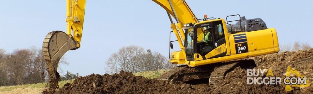 Second hand excavators