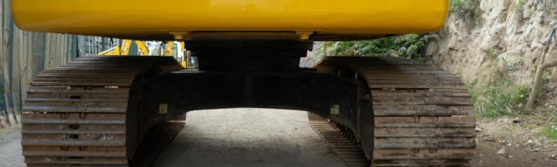 Tracked excavators - Maintain undercarriage